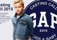 BabyGap / KidsGap 2015 auditions and photo contest