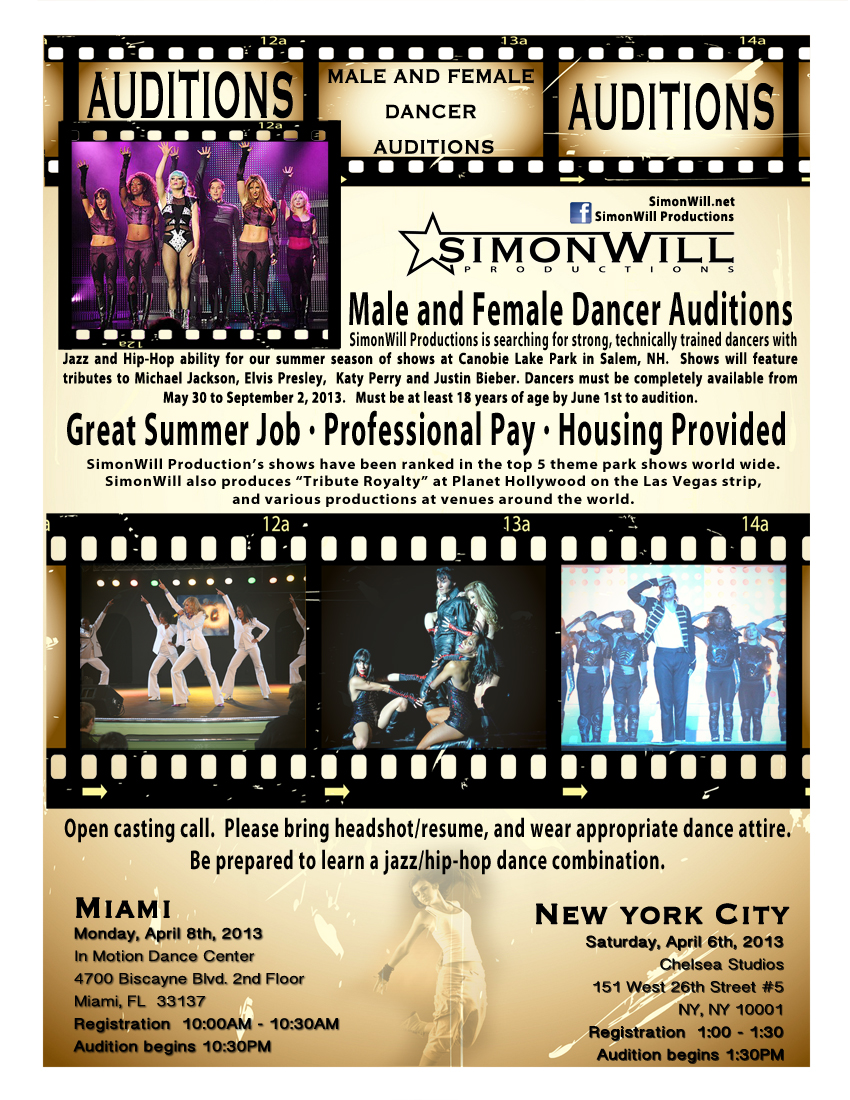 Singing Auditions In Miami