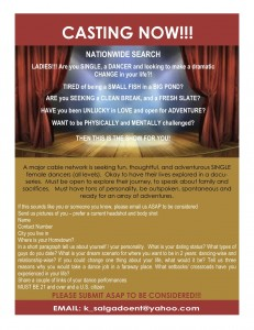 Auditions for Dancers