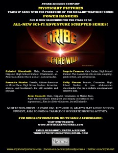 Tribe of the Wild Now Casting!