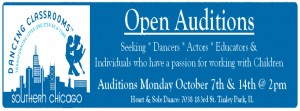 Chicago open auditions