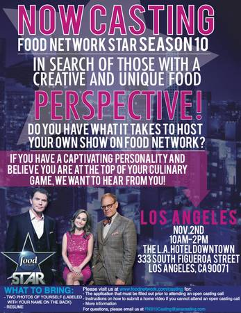 Food Network Star L.A. Auditions
