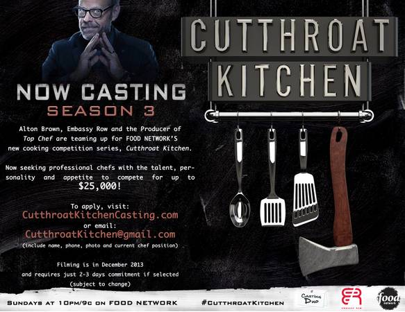 New Season Cutthroat Kitchen