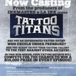 New CMT Tattoo Reality Competition, Tattoo Titans, Now Casting Tattoo Artists