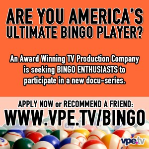 casting flyer for Bingo players