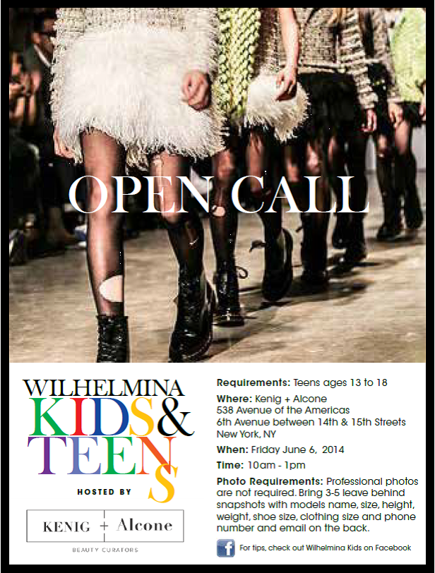 Call casting new teen york