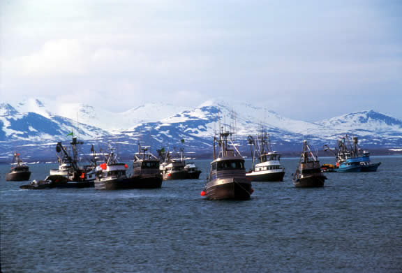 Now casting drift boat captains and fishermen for reality for Bristol bay fishing