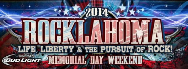 promo models Rocklahoma event