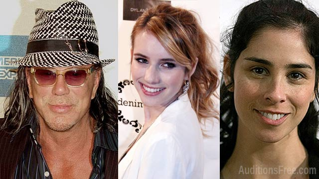 Ashby with Emma Roberts, Sarah Silvereman and Mickey Rourke coming to North Carolina this month