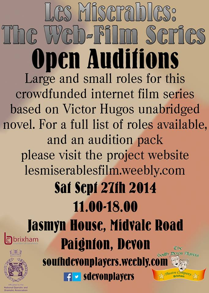UK auditions for Les Miserables, the series