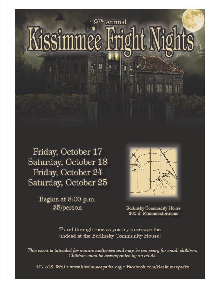 Kissimmie Frieght Nights hiring actors for seasonal show