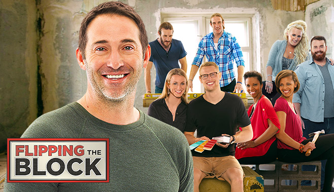 Try out for an hgtv design competition show and flipping for Hgtv cast members
