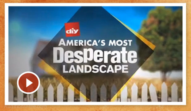 nationwide casting for diy america s most desperate landscape