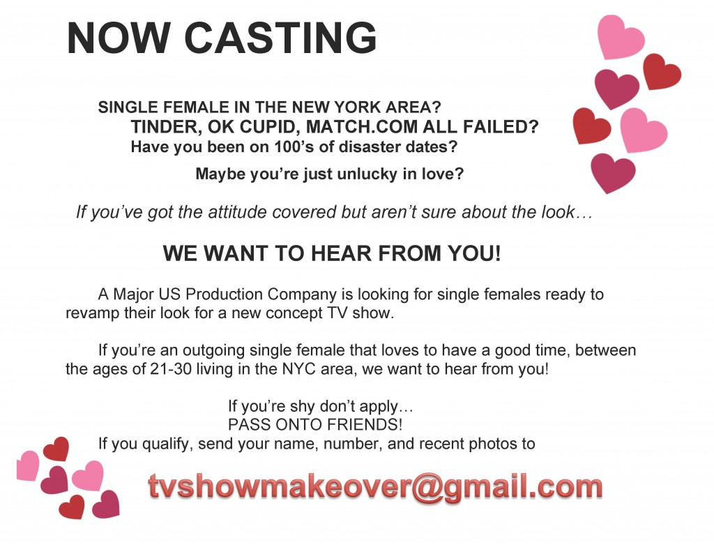 Casting dating shows
