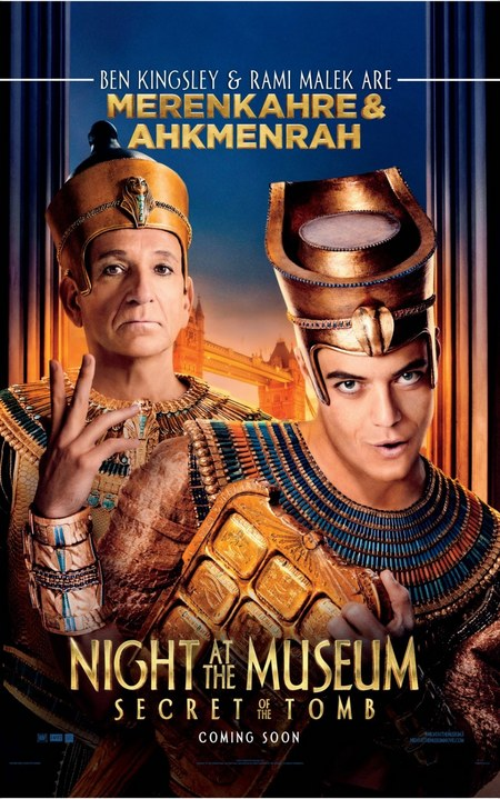 Ben Kingsley Night at the Museum 3 poster