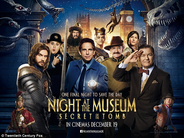 Casting actors for Night at the museum 3 premiere