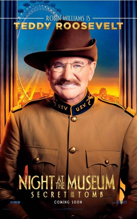 Robin Williams Night at the Museum 3 poster