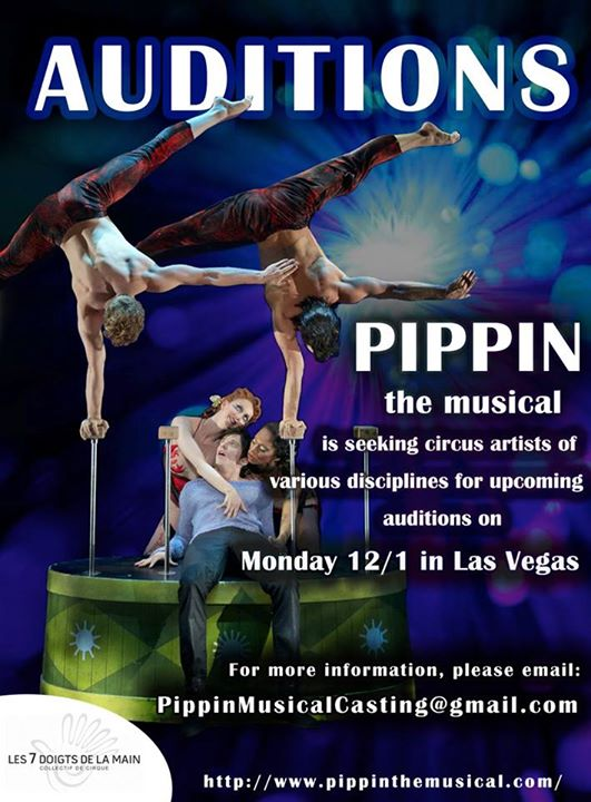 Auditions for Broadway Musical Pippin Announced