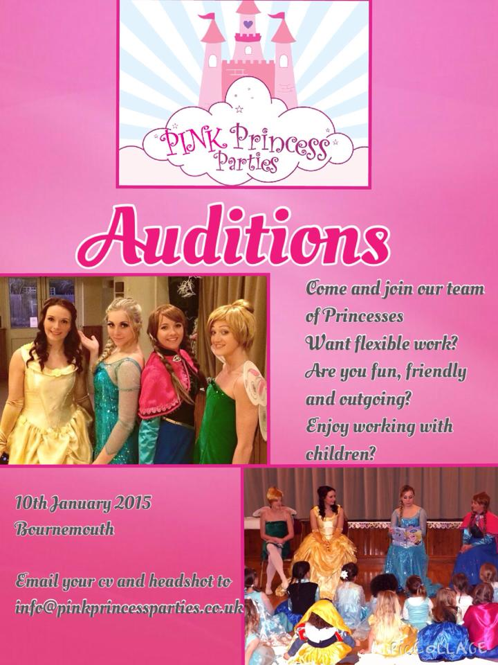 Disney Princess Auditions for Kids Events – UK | Auditions Free