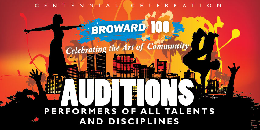 Performers wanted for Broward 100 Celebration