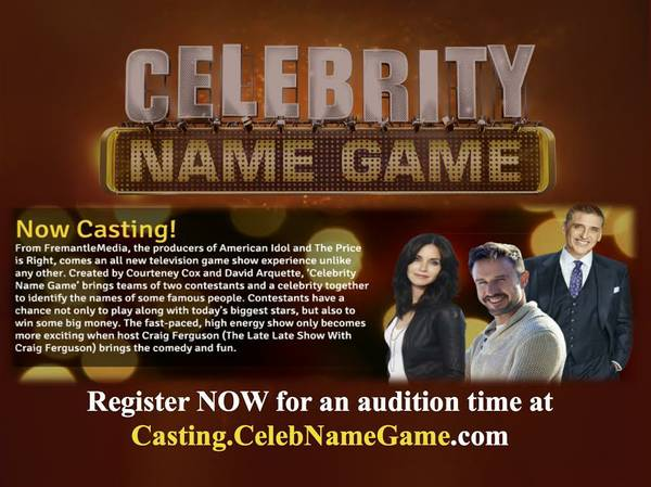 Auditioning for Celebrity Name Game - MomsLA