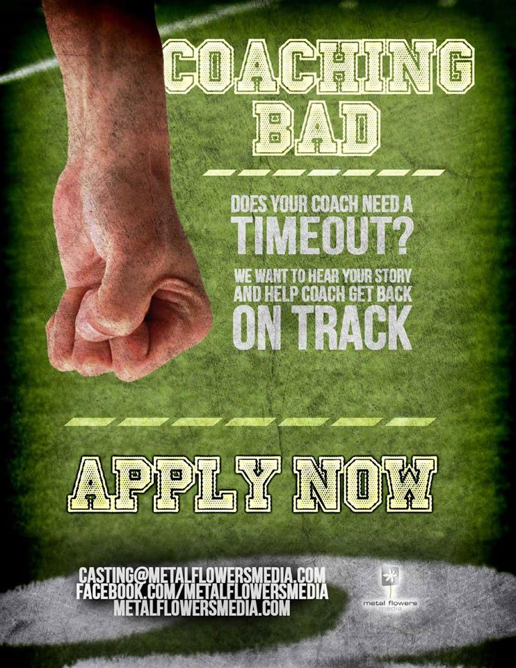 """casting call for Spike """"Coaching Bad"""""""