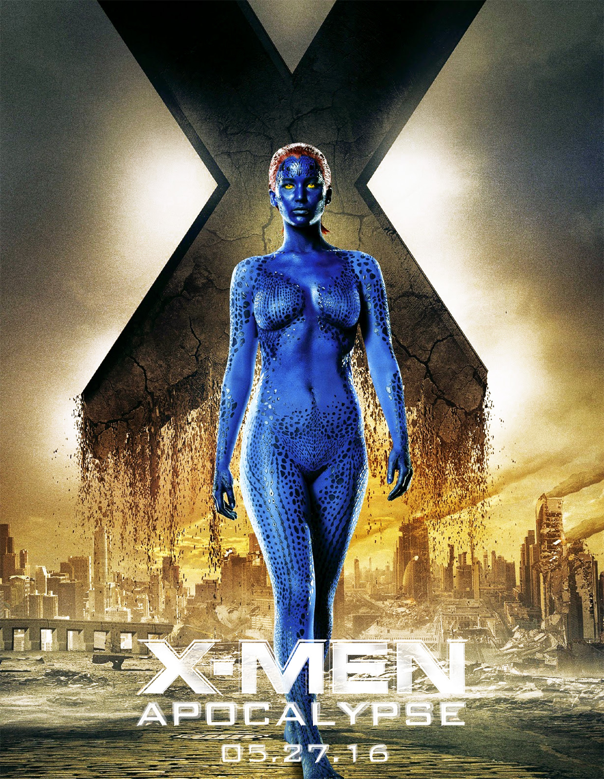 Xmen rogue nude exposed sport woman