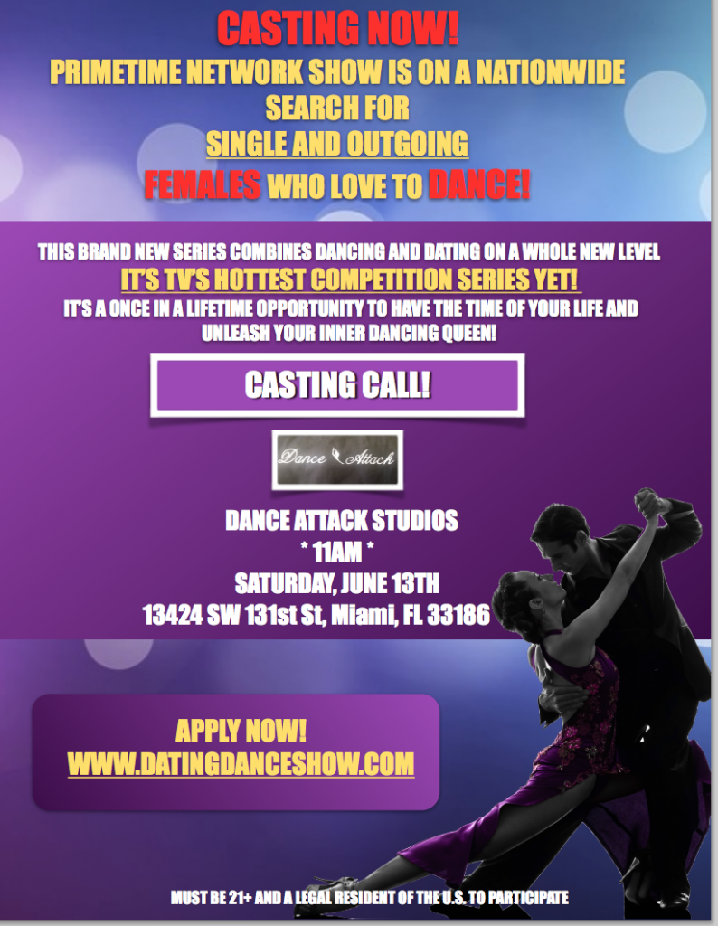 dating casting calls 2015 Big brother open casting calls please check back regularly for dates, times and locations for open calls and events in a city near you applicants are not required to bring anything to the open call.