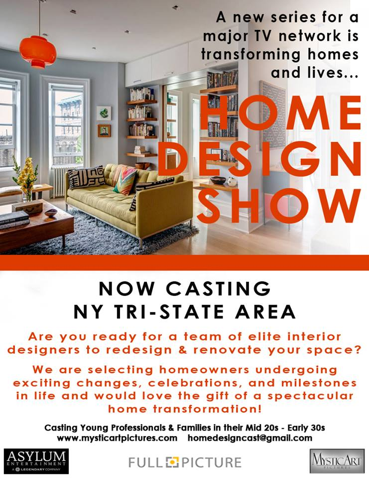 Home Design Show is Seeking Young Families in The NYC Area To Get a on novogratz home design, new york loft interior design, high end home design,
