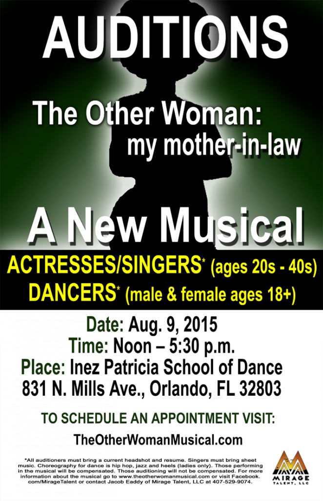 Singers wanted in Orlando Florida