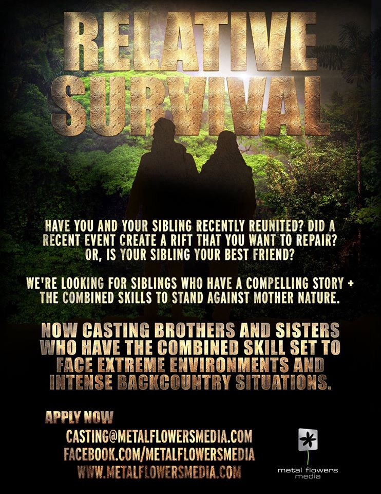 Relative Survival Casting Call