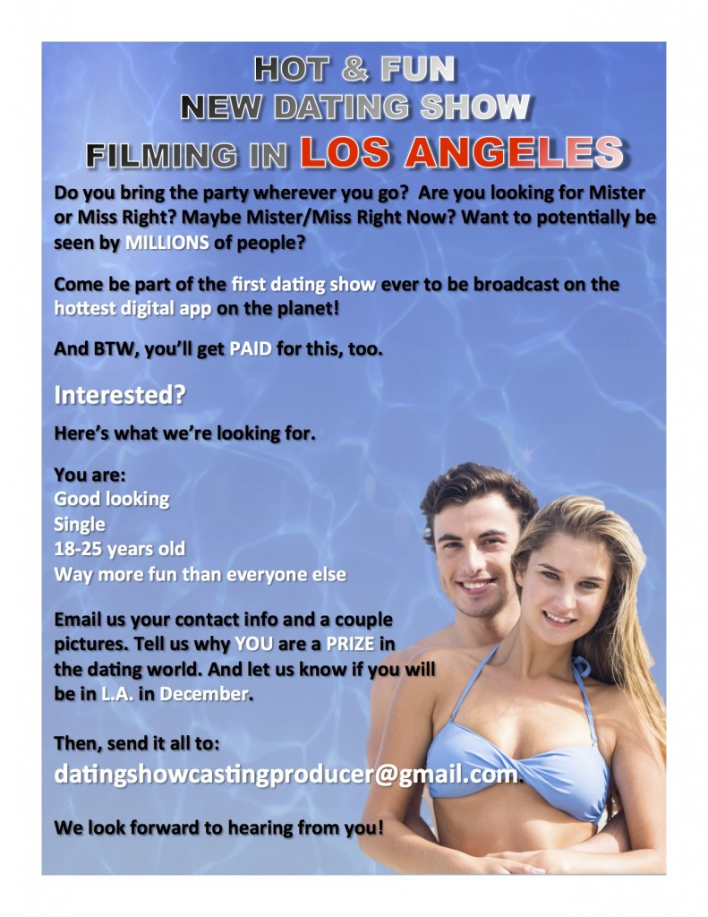 Dating Auditions in 2018 - Casting Call Hub