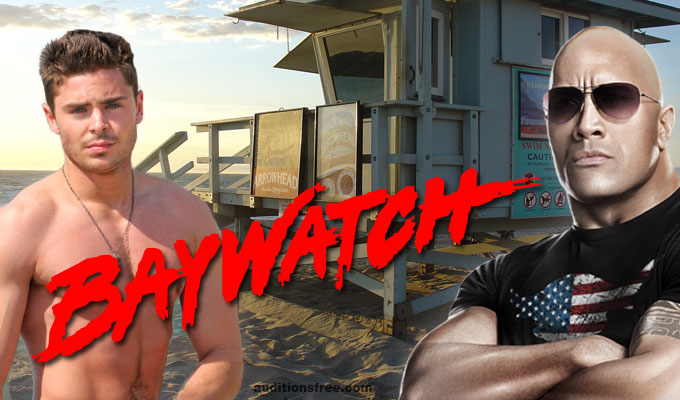 casting call for new Baywatch movie