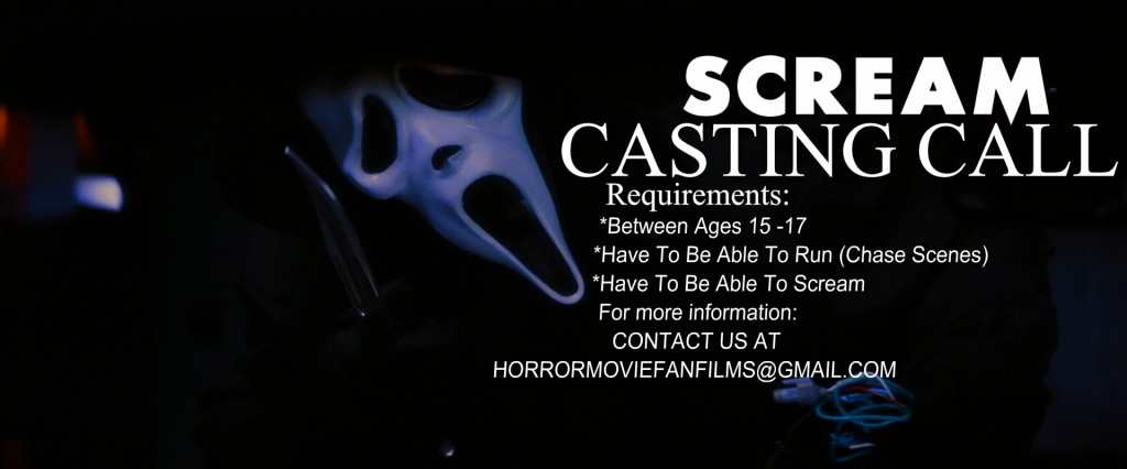 casting call for scream