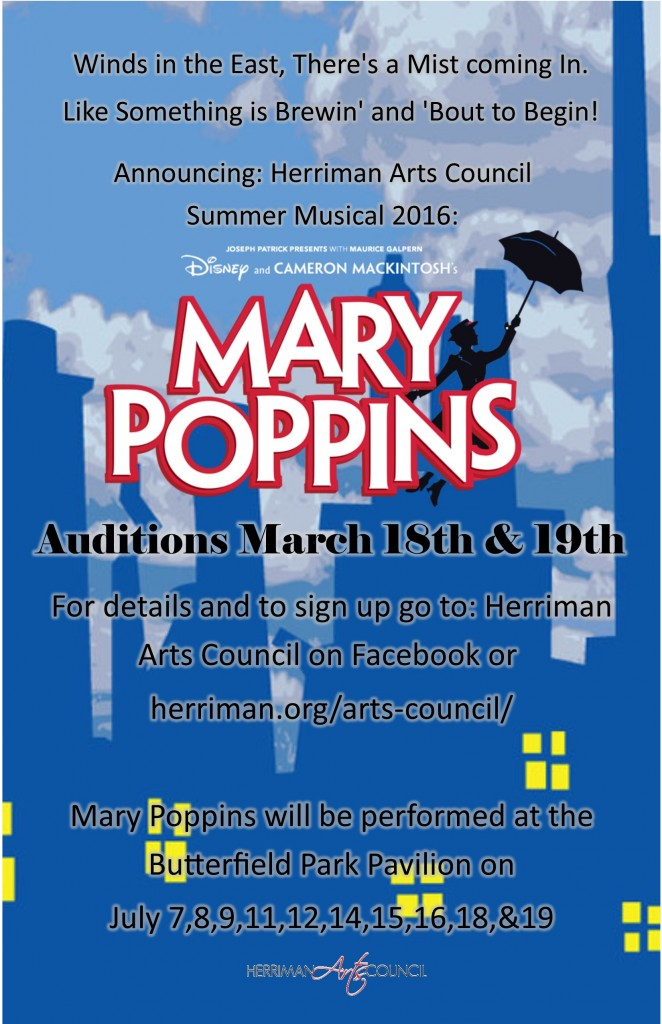 Utah auditions for Mary Poppins