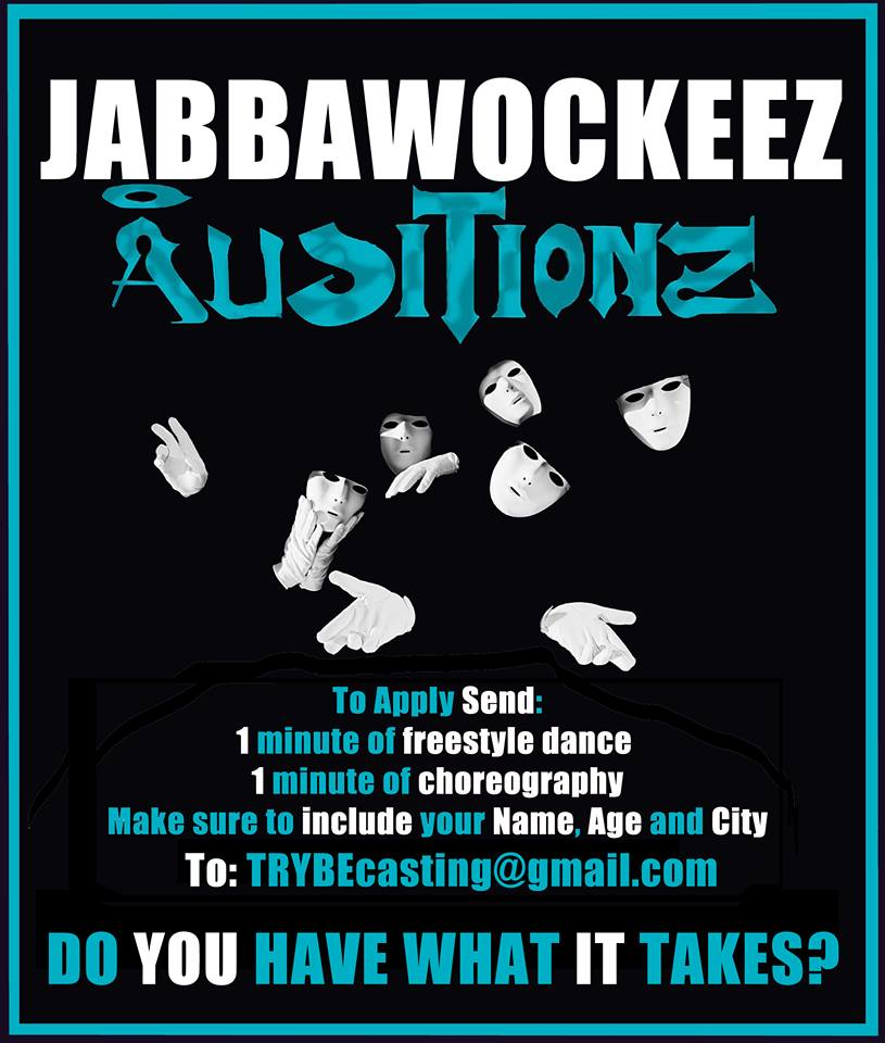 Jabbawockeez Dance Crew Holding Auditions for New Members
