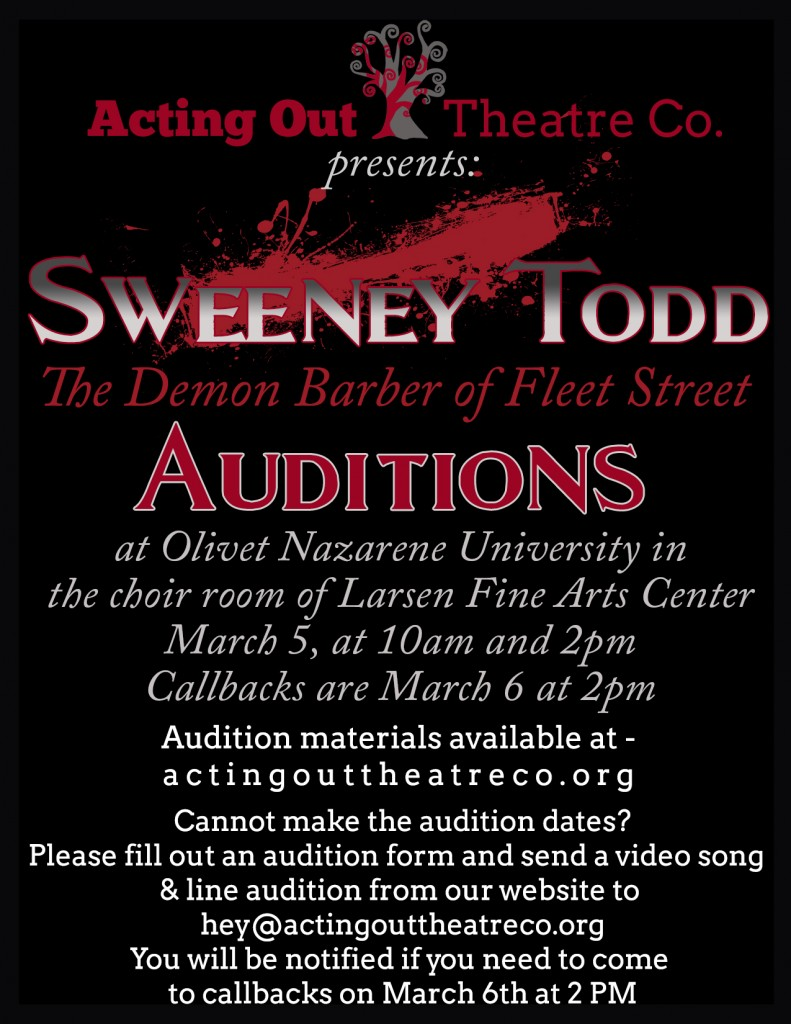 Sweeney Todd Auditions