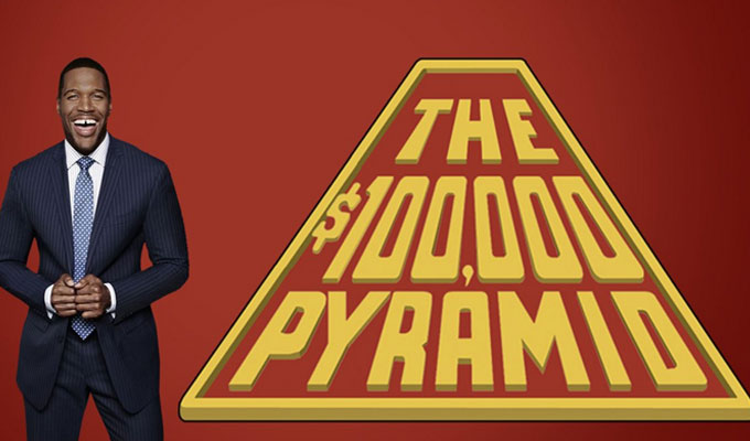 100000 pyramid game michael strahan casting frontier