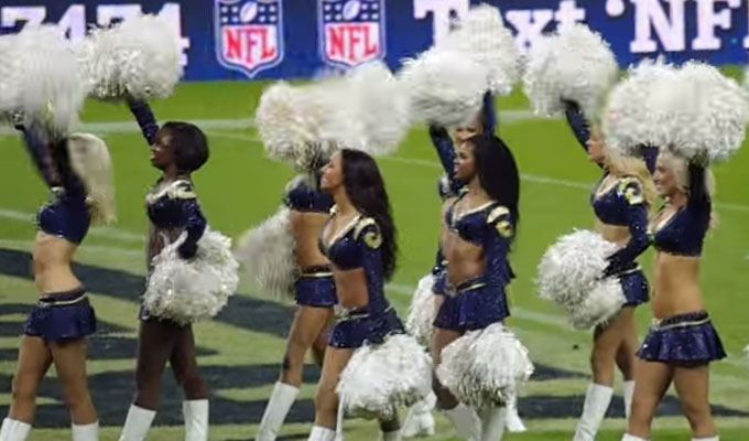 Nfl Rams Cheer Squad Auditions Free