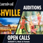 Carnival Cruises Holding Open Auditions for Singers and Dancers in Nashville, TN