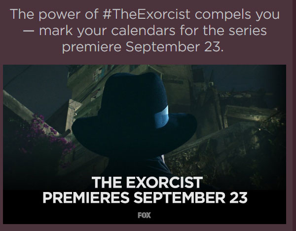 The Exorcist coming to FOX