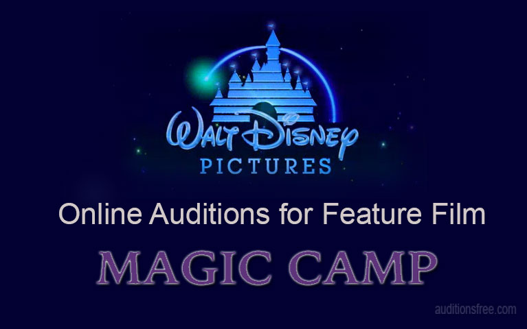 Magic Camp Disney open auditions