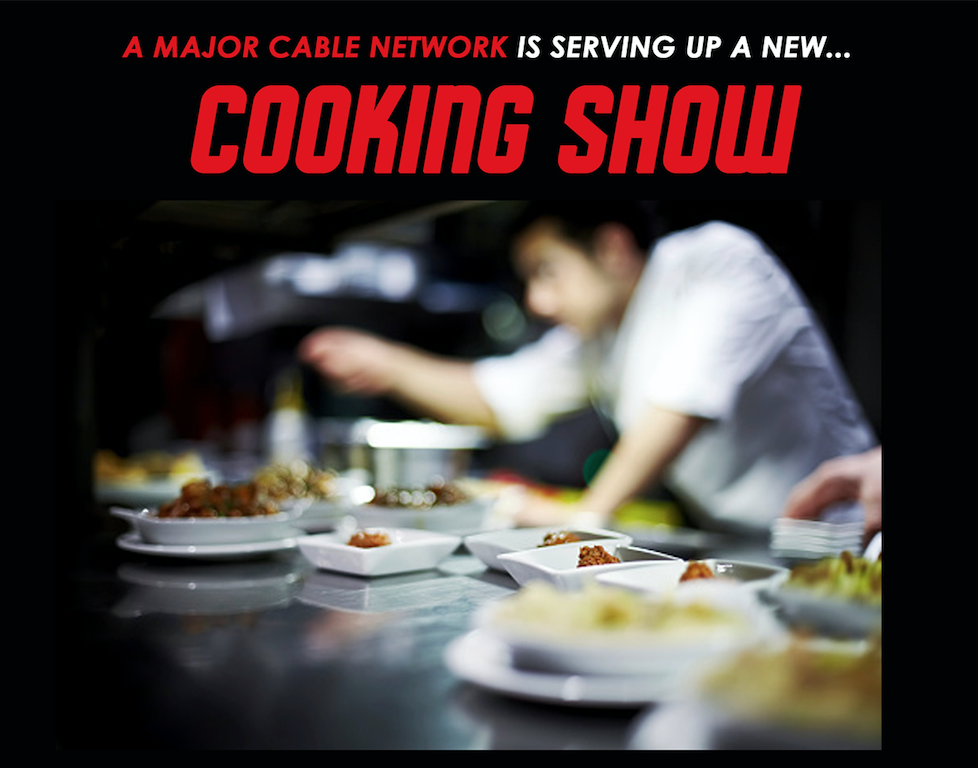 Cooking show casting