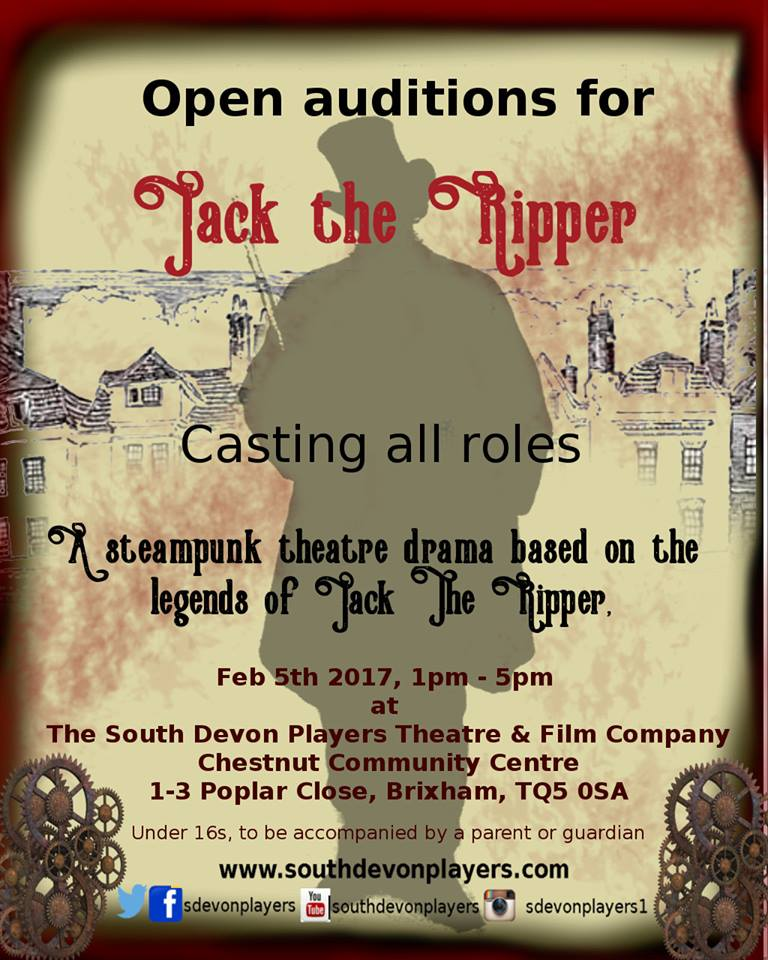 Jack The Ripper Stage Play Brixham, Devon uk