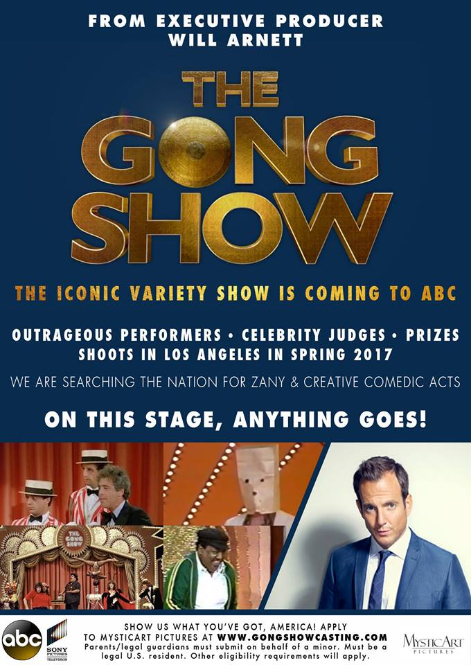 tryout for the Gong Show