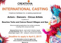 Creativiva auditions