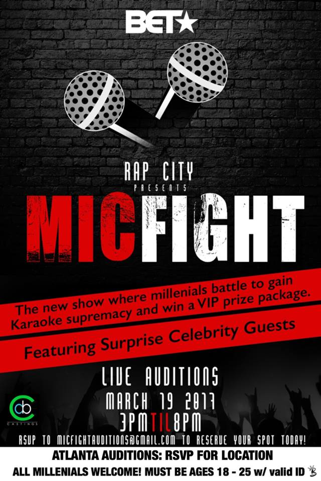 BET casting for mic fight