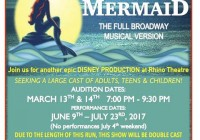 The Little Mermaid auditions