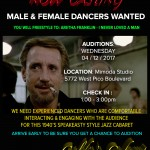 Dancer Auditions in Los Angeles for Goldie's 1940's Speakeasy Style Event