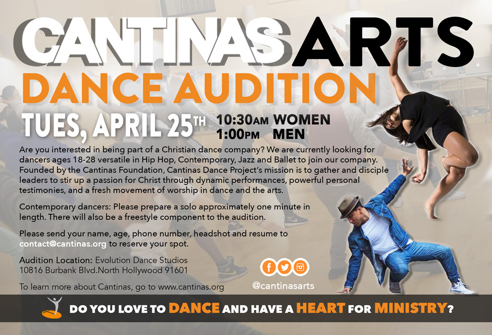 Cantinas Dance Company auditions L.A.